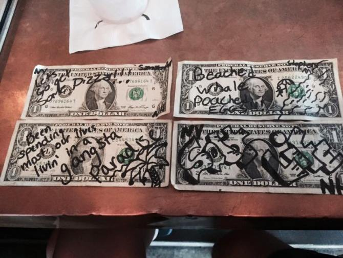 bar money