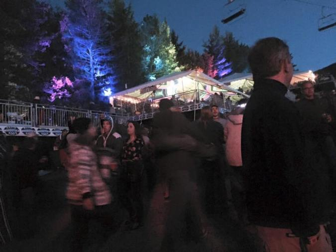 cool trees lit highlight taste of country
