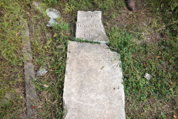 But the house next door was also 1700s era and had some graves on the floor...we were not sure if maybe the owner made them or is these were remains from an actual cemetery....
