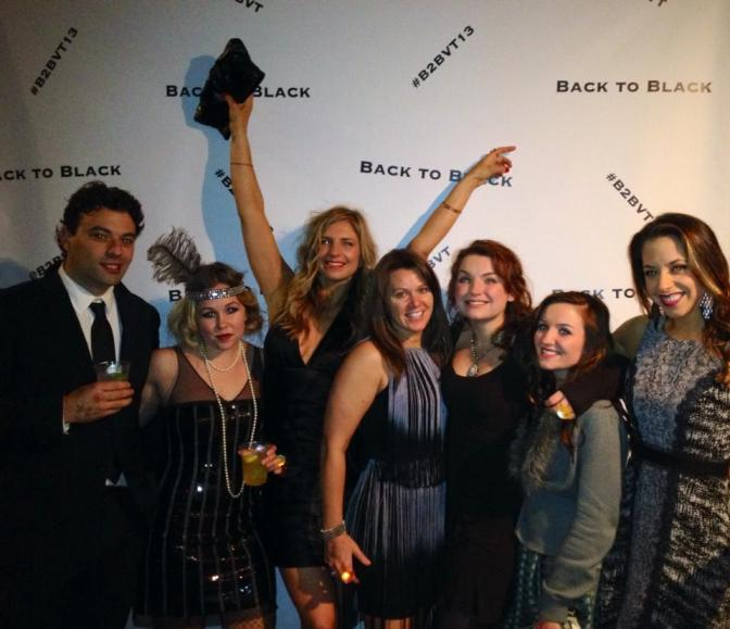 Back to Black party