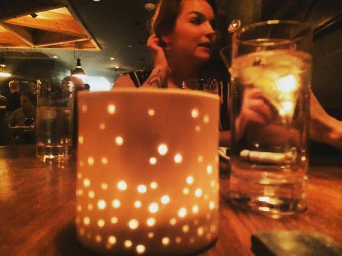 burly candle and amanda