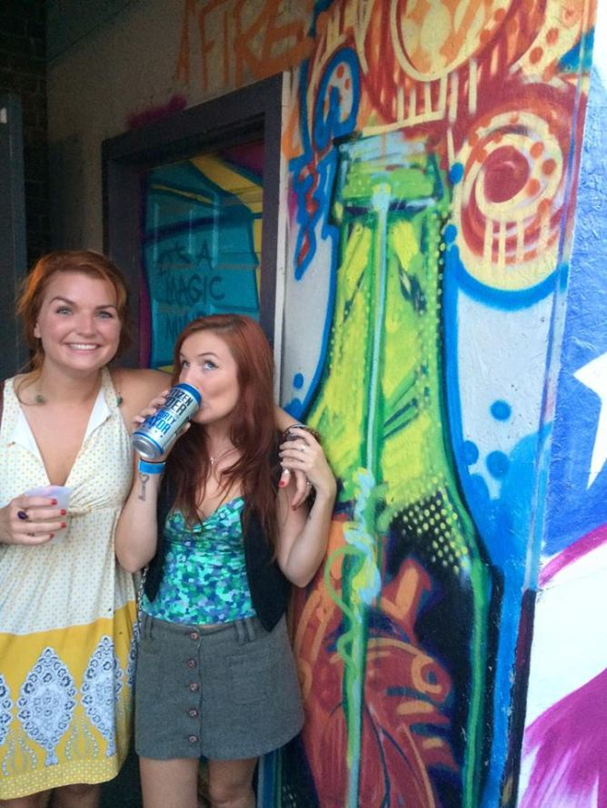 August 2015-Arts Riot food truck stop