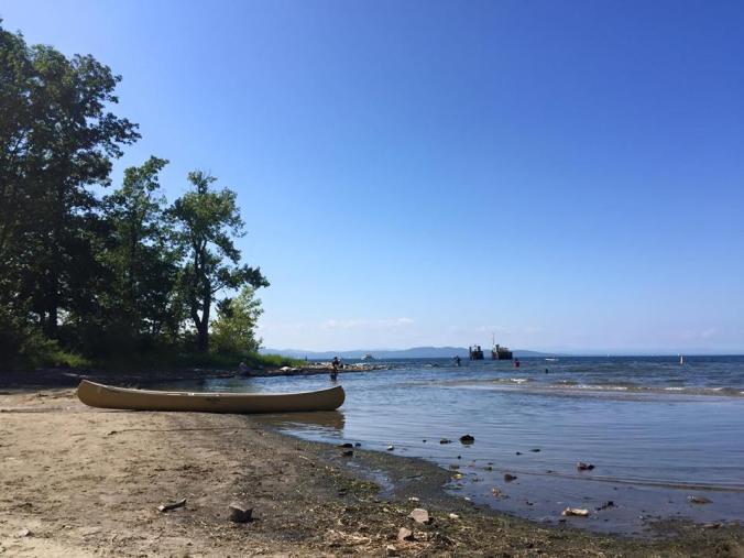 vt boat beach