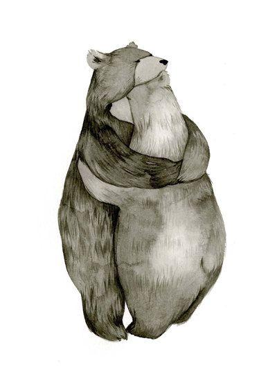 etsy bears in love