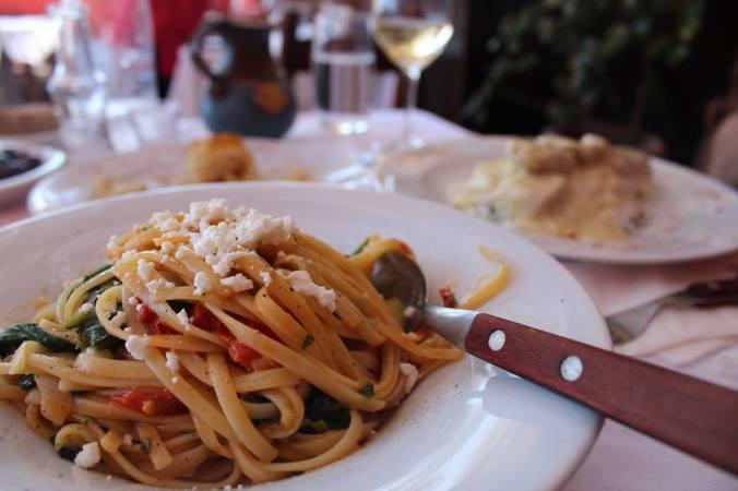 met pasta