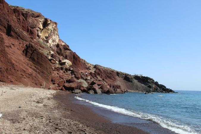 red beach other side