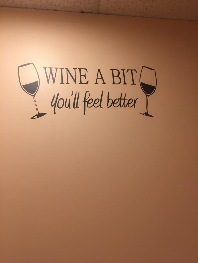 wine sign