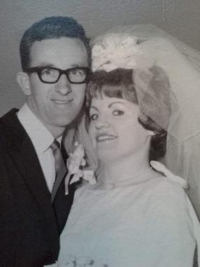 nana and papa wedding